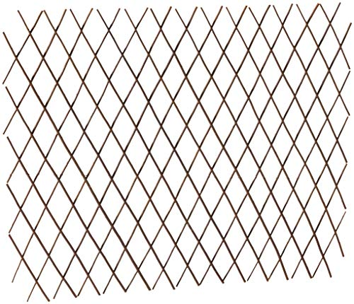 Master Garden Products Willow Expandable Trellis Fence, 36 by - Wood Panels Lattice