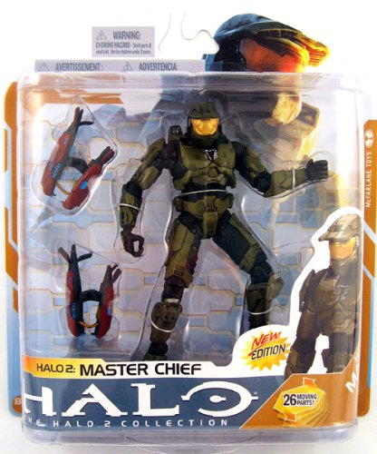 Halo 2 McFarlane Toys Series 8 Action Figure Master Chief