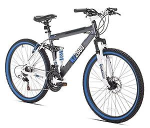 Kent Kz2600 Dual Suspension Mountain Bike 26 Inch