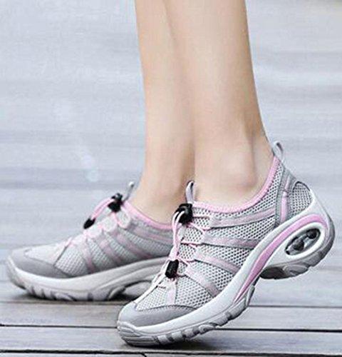 KUKI Damen, die zufällige starke Wanderschuhe der Schuhe im Freien wandern , 4 , US6 / EU36 / UK4 / CN36