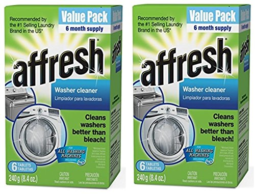 Affresh Washer Machine Cleaner, 2 Pack (6-Tablets, 8.4 oz)