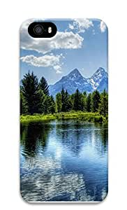 iPhone 5 5S Case Forest Lake 3D Custom iPhone 5 5S Case Cover