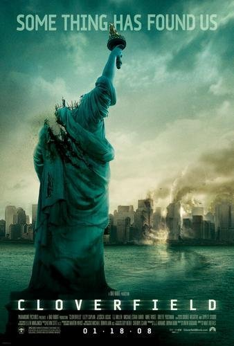 Link to Catalogue record for Cloverfield dvd