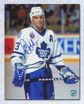 Doug Gilmour Toronto Maple Leafs Autographed Bloody Warrior 11x14 Photo