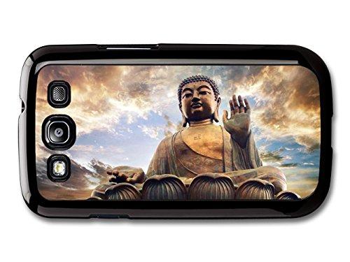Buddha Praying With Cloudy Sky Tibet Buddhism coque pour Samsung Galaxy S3