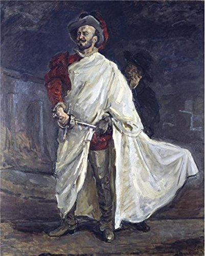 [High Quality Polyster Canvas ,the Beautiful Art Decorative Canvas Prints Of Oil Painting 'Max Slevogt-The Singer Francisco D'Andrade As Don Giovanni In Mozart's Opera,1912', 30x37 Inch / 76x95 Cm Is Best For Home Office Decoration And Home Artwork And] (80s Singers Costumes)