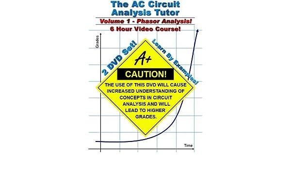 AC Circuit Analysis Tutor Volume 1 6 Hour Course By MathTutorDVD Amazonca DVD