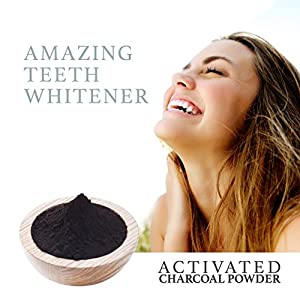 Food Grade Activated Charcoal Powder - Bulk 2 LB bag - Amazing Natural Body Detox, Teeth Whitening Solution, Skin Cleanser, Blackhead Remover, Impurity Filter, Odor Eliminator, DIY Peel Off Mask