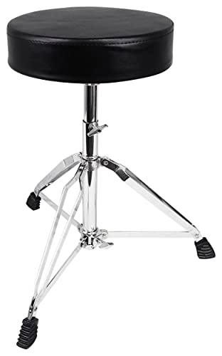Rockville RDS30 Deluxe Thick Padded Foldable Drum Throne