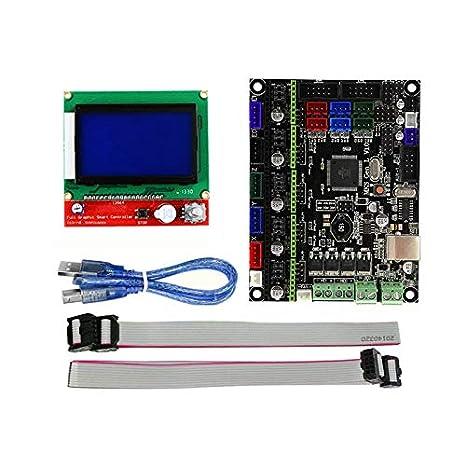 SODIAL Accesorios para impresoras 3D MKS Gen L Motherboard + ...
