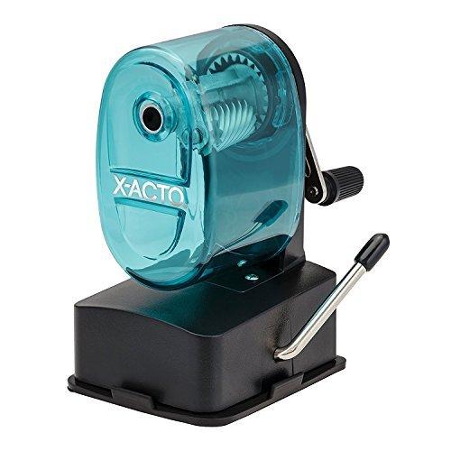 X-ACTO Vacuum Mount Manual Pencil Sharpener - Blue