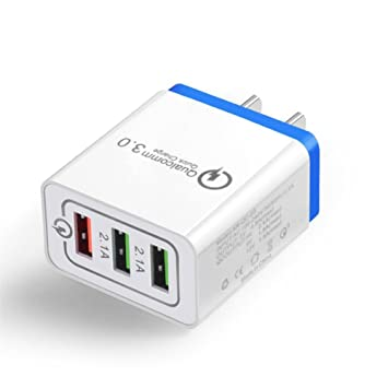 Miss-an 3 Port USB Cargador, Carga rápida qc3.0 Cargador 3 USB teléfono móvil Flash Cargador 3 Puerto Enchufe UE US Conector Cargador de Viaje