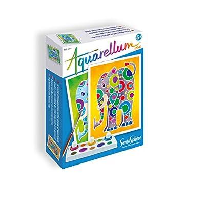 Sentosphère - Aquarellum Mini: Elefantes (0756001): Juguetes y juegos