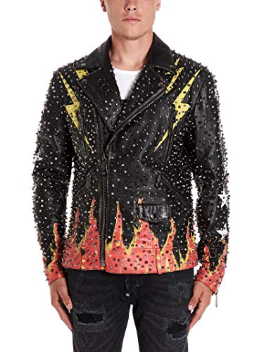 Philipp Plein Luxury Fashion Mens Outerwear Jacket Winter Black