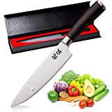 WABI×SABI Pro Kitchen 8 Inch Chef's Knife High Carbon Stainless Steel Sharp Gyutou KnivesJapan Quality