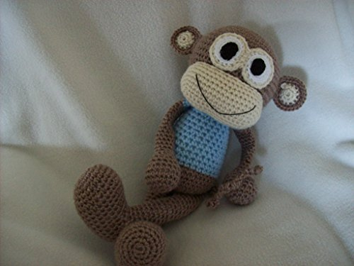 Monkey Stuffed Animal 17in