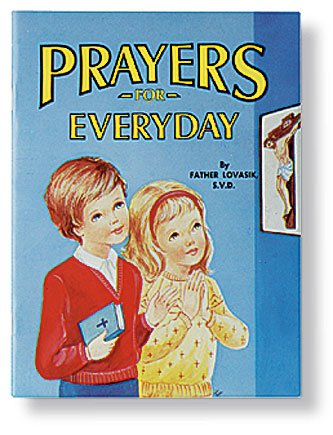 AT001 Catholic & Religious St. Joseph Picture Book - Prayers for Everyday - 10/pk