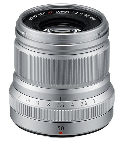 Fujinon XF50mmF2 R WR Lens - Silver