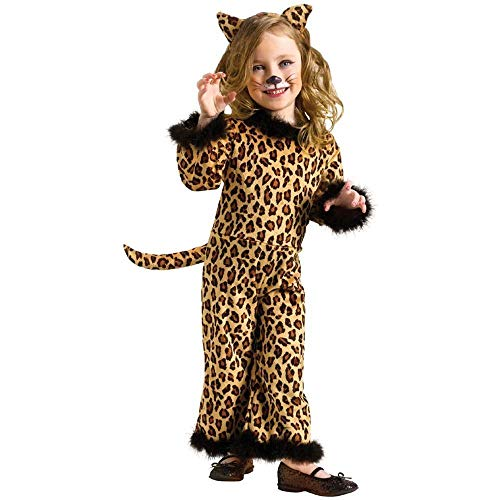 Toddler Pretty Leopard (Large (3T - 4T))