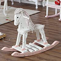 Overstock.com deals on Fantasy Fields Princess and Frog Rocking Horse