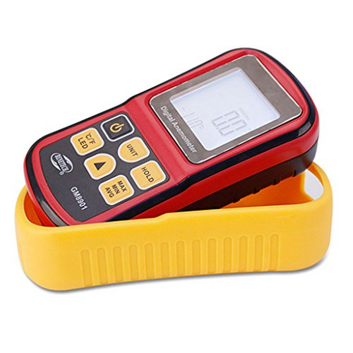 - Baoblaze GM8901 LCD Digital Anemometer Wind Speed Meter Thermometer Air Volume Tester Weather Station °C/°F