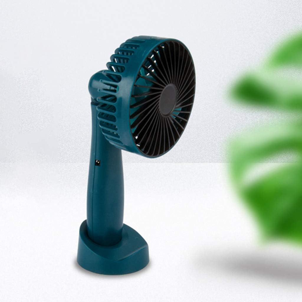 Mini Portable USB Charging Fan Rotating Handheld Desktop Cooling Fan Cooler Mobile Phone Holder Supplies