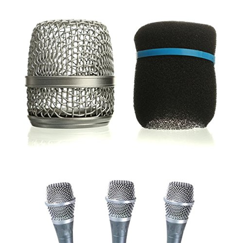 Replacement Microphone Ball Head Network Grille Fits Beta 57A Parts ()