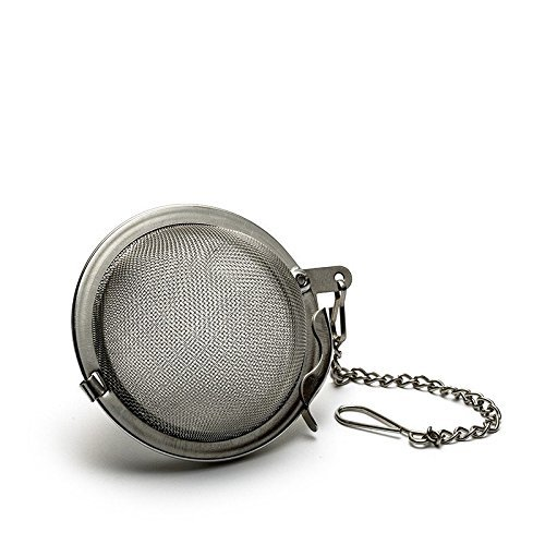 Purchase Stainless Steel Mesh Tea Infuser Sphere Locking Tea Ball Strainer - Medium Size 5cm (1)