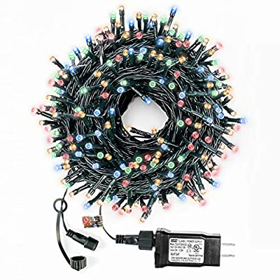 Decute Upgraded Christmas String Lights with End-to-End Plug, 100% UL Certified Fairy Lights for Indoor Outdoor Christmas Tree Party Wedding Bedroom Decoration