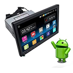 HD rear camera and external microphone are included!!!GeneralUnit type:Universal single din unitOperating system:Android 6.0A7 Quad core 1.6GHz,1GB DDR3 RAM and 16G ROMUSB:2CHTF card:1CHSteering wheel controlBrightness adjustmentSubwoo...