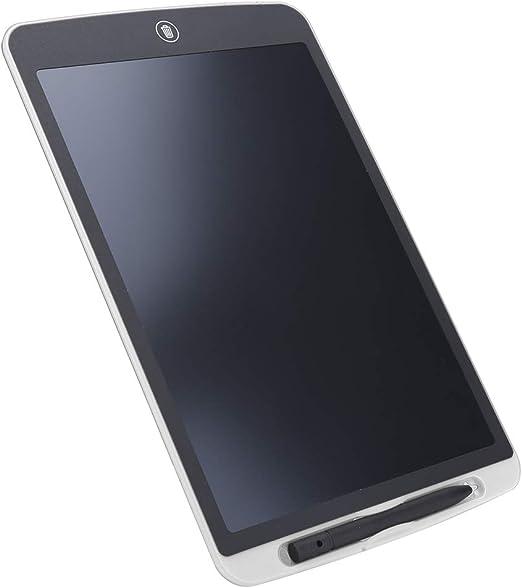 ABSマテリアルLCDライティングボード、ライティングタブレット、150mAh男の子/女の子向けのLEDバックライトなし(white)