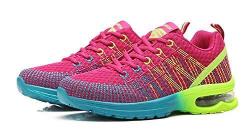 No Red Fashion Shoes Sneakers Air Flyknit Town Womens Rose Running Cushion 66 Athletic rqz7vr