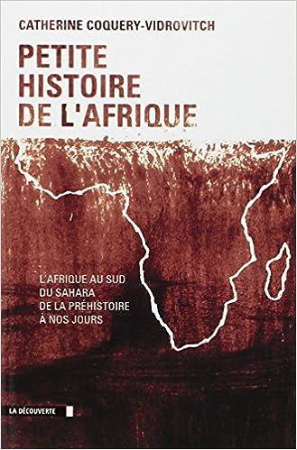 Livre gratuits Petite histoire de l'Afrique pdf, epub ebook