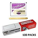 Urethane Purple Beige 3.5g Double Bubble Epoxy A-85 Packet Includes 100 Packs Hardman 04024 By Midwest Corvette