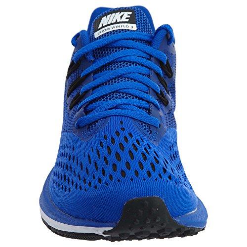 Nike Mens In Winflo 4, Racer Blå / Svart-vit, 12