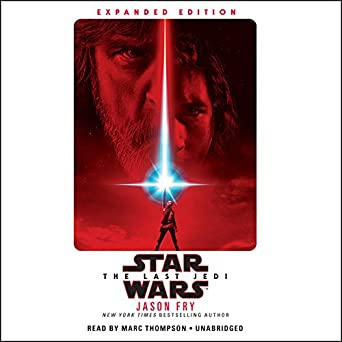 amazon com the last jedi star wars audible audio edition jason