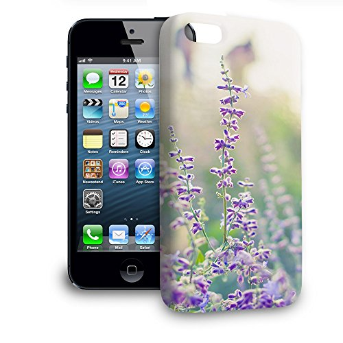 Phone Case For Apple iPhone 5 - Lavender at Dusk Lightweight Cover