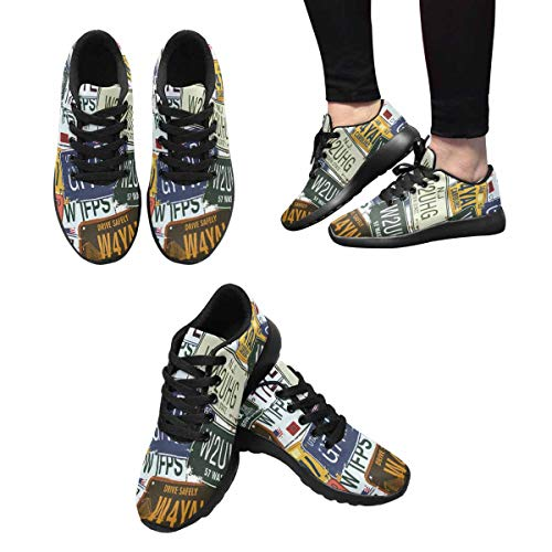 Design Running American InterestPrint Plates License Old Women's Shoes 5 Trail Various qPPz6wOp