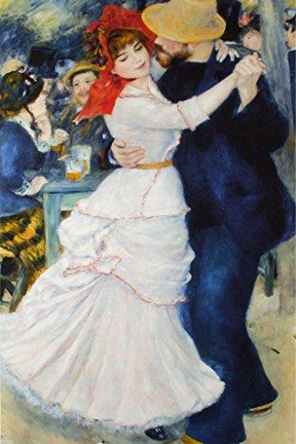 Renoir Dance At Bougival - Pierre Auguste Renoir Dance at Bougival Poster 24x36 inch