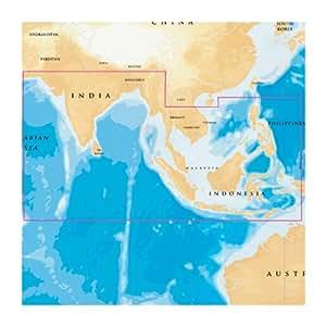 NAVIONICS GOLD INDIAN OCEAN AND SOUTH CHINA SEA 31XG/CF