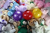 Game Room Guys Crane Machine Animal Plush and Knobby Ball Mix