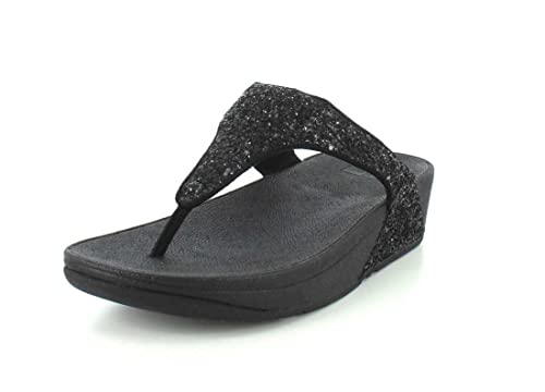 83f6f64edd8 Fitflop Womens Glitterball Toe Post Sandal  Amazon.co.uk  Shoes   Bags