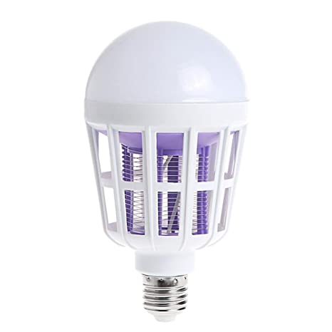 15w 220v E27 Led Mosquito Killer Light Bulb Electronic Anti-mosquito Insect Bug Zapper Killer Lamp Pest Control Flying Moth Trap Lights & Lighting