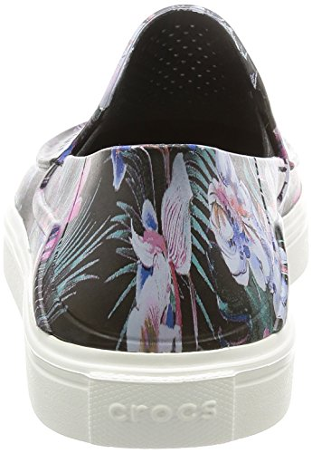 Slipon Citilane Graphic Crocs Roka Flat W Tropical Women's SHqTZOz