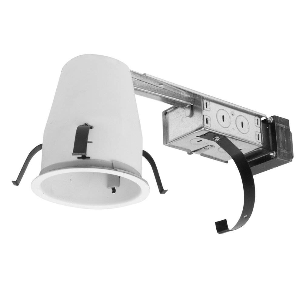 Halo Recessed H1499RTAT 4-Inch Housing Non-Ic, Air-Tite Shallow Ceiling Remodel 12-Volt Low Voltage