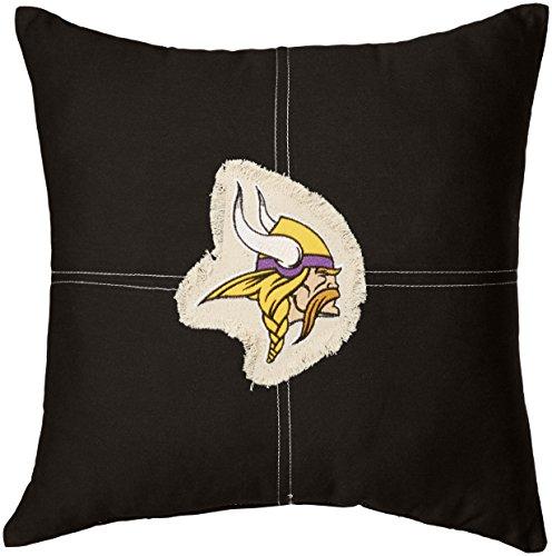 The Northwest Company Officially Licensed NFL Minnesota Vikings Letterman Pillow, 18