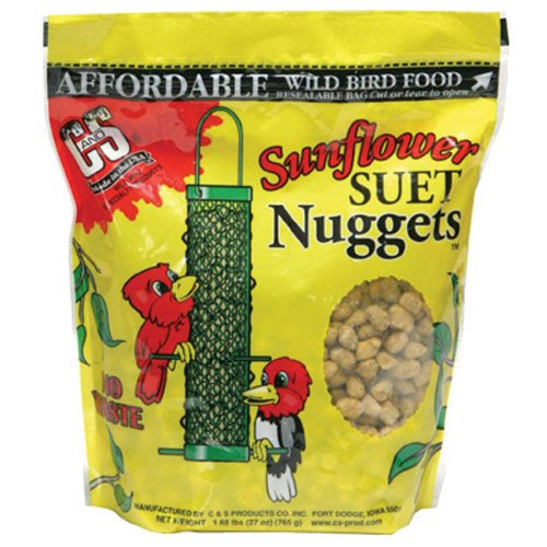CS06110 Sunflower Suet Nuggets 27 Ounce product image