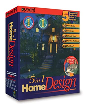 Amazon.com: Punch! 5 in 1 Home Design