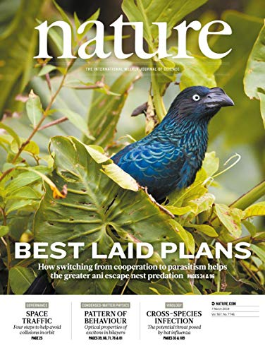 Nature magazine 7 March 2019