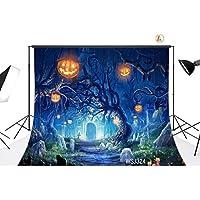 LB 9X6ft Vinyl Halloween Party Photography Backdrop Customized Photo Background Studio Prop WSJ324